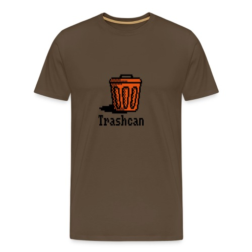 trashcan - Men's Premium T-Shirt