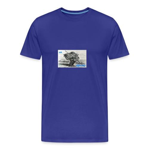 el caminante - Camiseta premium hombre