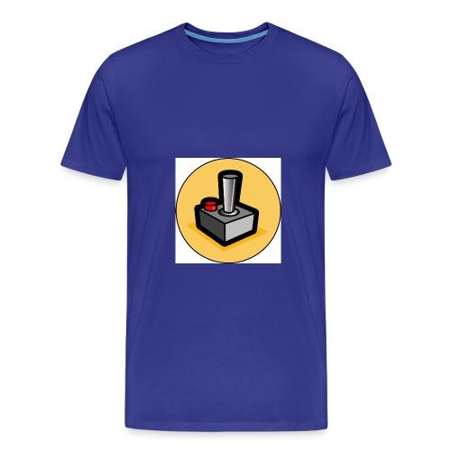 Lustiger Joystick - Männer Premium T-Shirt