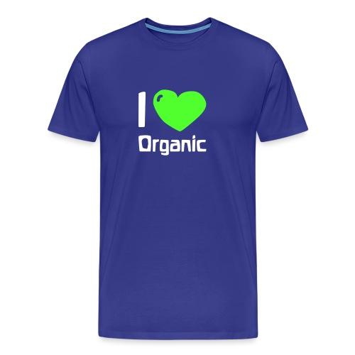 I love Organic - Männer Premium T-Shirt