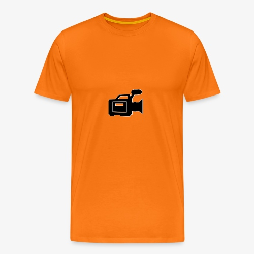 camera - Herre premium T-shirt