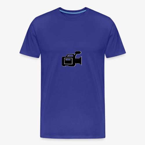 camera - Herre premium T-shirt