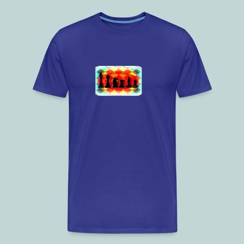 Schachfigurengruppe vignettiert - Männer Premium T-Shirt