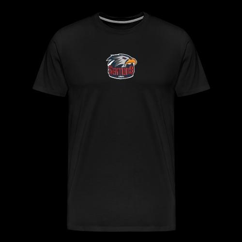 Sektion9 logo Grau - Männer Premium T-Shirt