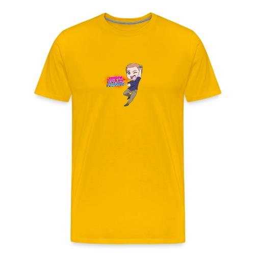 Jørgen spiller lommemonstre - Herre premium T-shirt