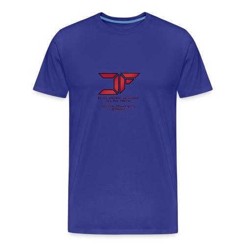JF White Men - Camiseta premium hombre