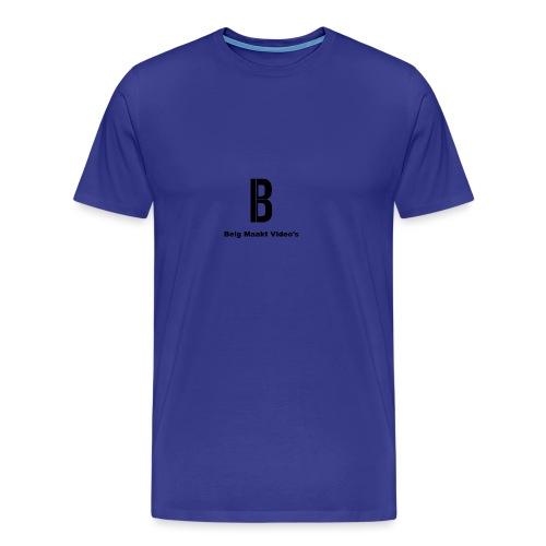 Belg Maakt Video's t-shirt - Mannen Premium T-shirt