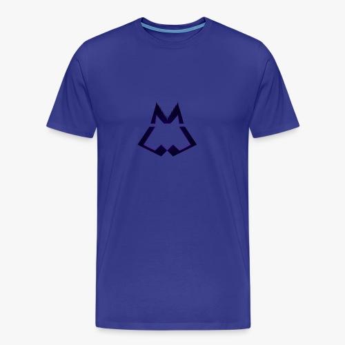 Official WINTERWOLF Season V wolf logo - Mannen Premium T-shirt