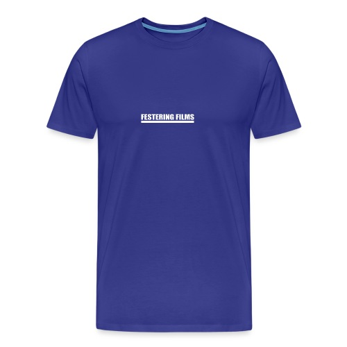 Logo de Festering Films (Blanc) - T-shirt Premium Homme