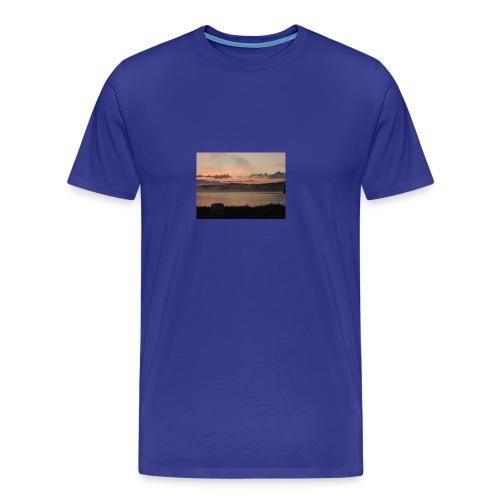 Himmel i Tornedalen - Premium-T-shirt herr