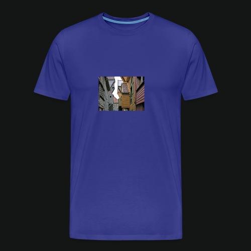 Brygen i Bergen - Premium T-skjorte for menn