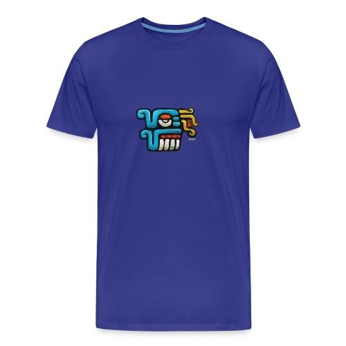 Aztec Icon Rain - Men's Premium T-Shirt
