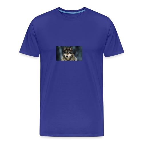 wolf shirt kids - Mannen Premium T-shirt
