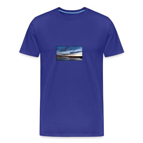 Sommarnatt1 - Premium-T-shirt herr