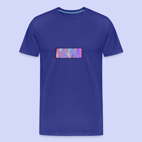 faded colors - evening cup - Herre premium T-shirt
