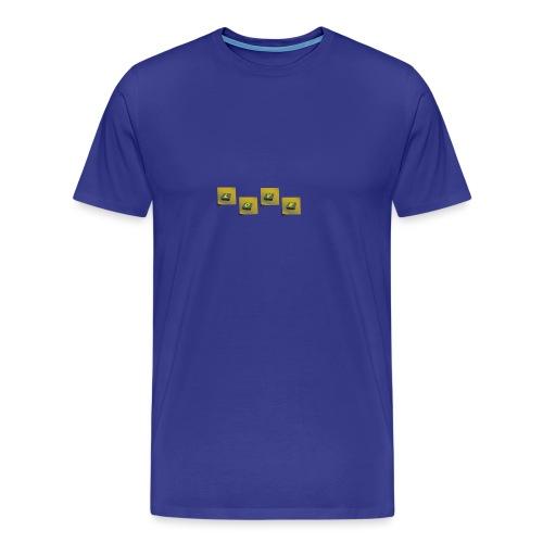 love - Mannen Premium T-shirt
