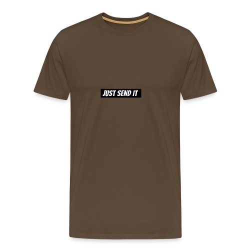 just send it logo - Men's Premium T-Shirt