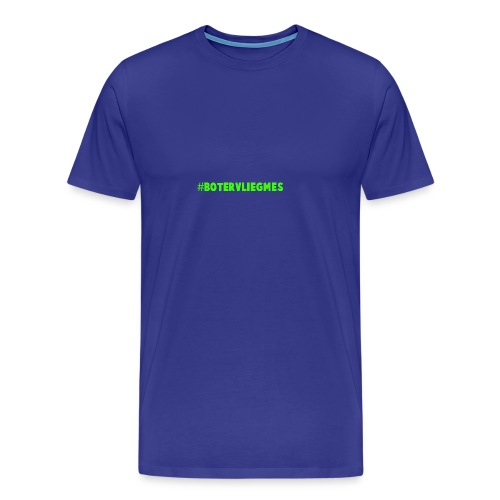 Botervliegmes hoodie (mannen) - Mannen Premium T-shirt