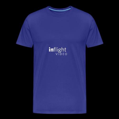 logo transparent bg large monowhite - Men's Premium T-Shirt