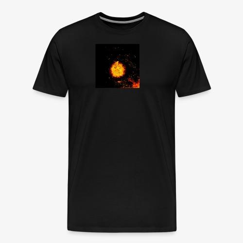 FIRE BEAST - Mannen Premium T-shirt