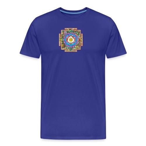 buddhist mandala - Men's Premium T-Shirt