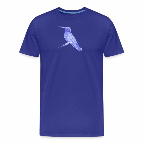 Hummingbird with ballpoint pen - Men's Premium T-Shirt