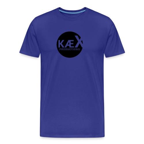 Kæx Hvit Hettegenser - Premium T-skjorte for menn