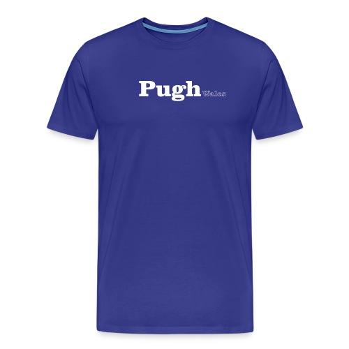 pugh wales white - Men's Premium T-Shirt
