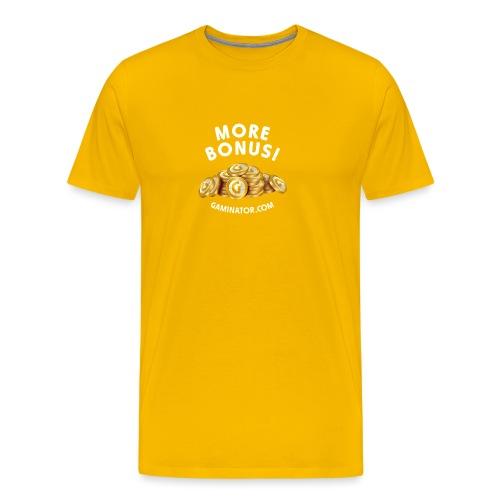 More bonus - Men's Premium T-Shirt