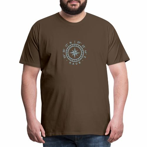 Kaub – Kompass - Männer Premium T-Shirt