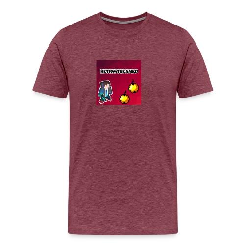 Logo kleding - Mannen Premium T-shirt