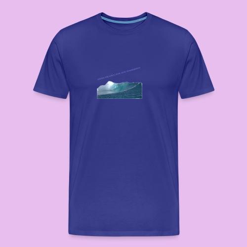 AHHH THE OCEAN HAVE GONE CRAZZZZZY! - Premium-T-shirt herr