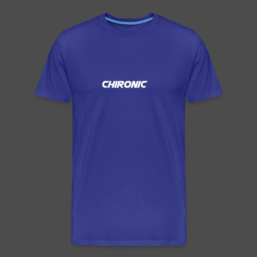 Chironic Text White - Mannen Premium T-shirt