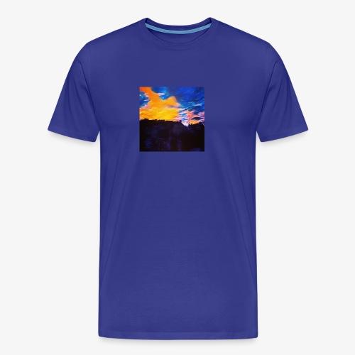 Artistic Sunset - Maglietta Premium da uomo