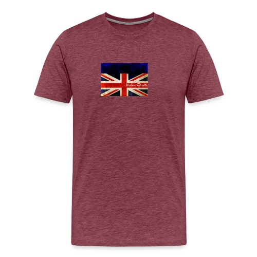 Brittish Flag - Premium-T-shirt herr