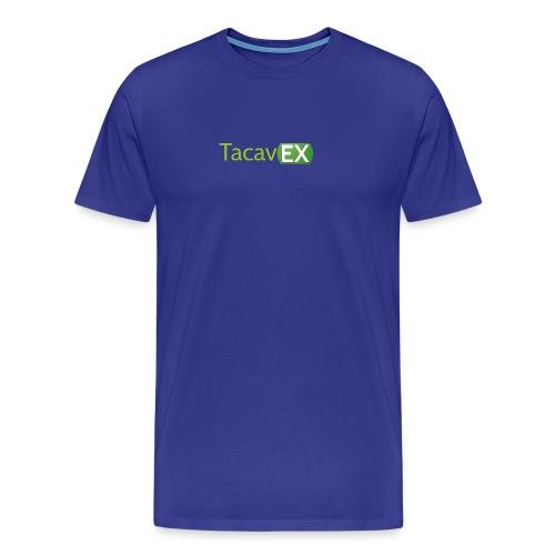 Logo TacavEX Horizontal - Camiseta premium hombre