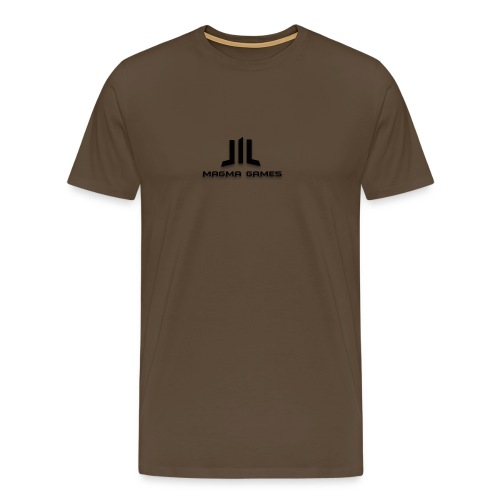 Magma Games 5/5s hoesje - Mannen Premium T-shirt