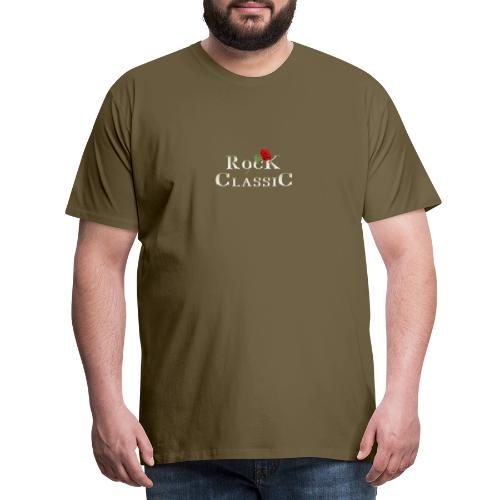 Rock Classic Rose - Männer Premium T-Shirt
