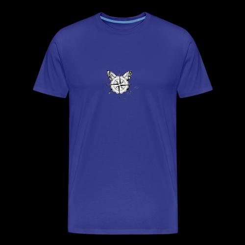 Butterfly Compass - Herre premium T-shirt