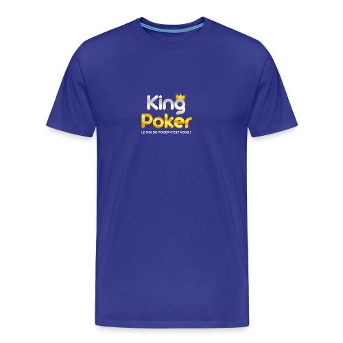 Logo King Poker - T-shirt Premium Homme