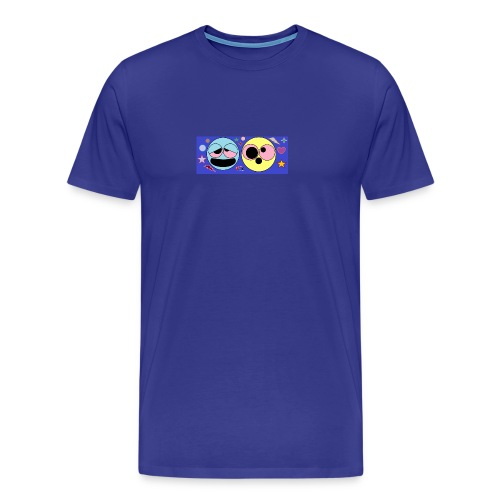 allucinazioni_da_acido_con_logo-png - Maglietta Premium da uomo