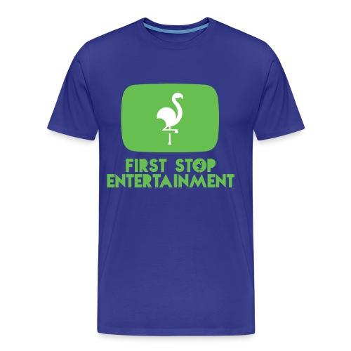 FSE Box Logo.png - Premium T-skjorte for menn