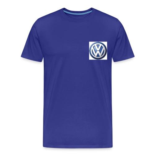 vw logo jpeg - Männer Premium T-Shirt
