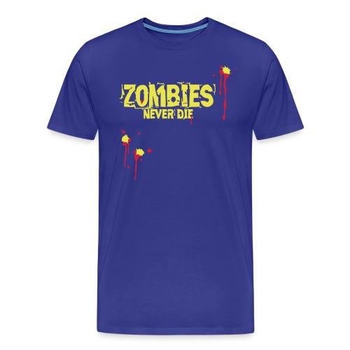 zawzneverdie - Männer Premium T-Shirt