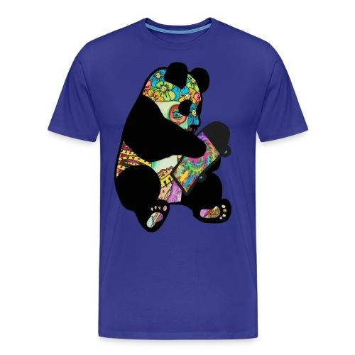 hippipanda - Miesten premium t-paita