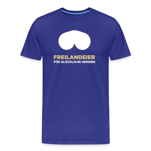 motiv5freilandeier - Männer Premium T-Shirt