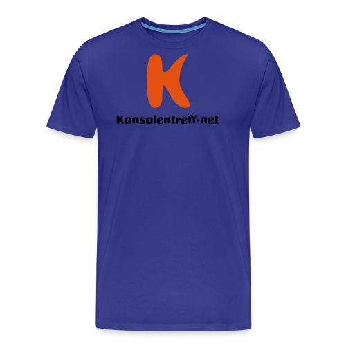 Logo vorne gross - Männer Premium T-Shirt