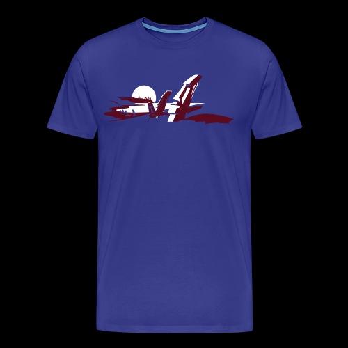 Tiki Shirt - Männer Premium T-Shirt