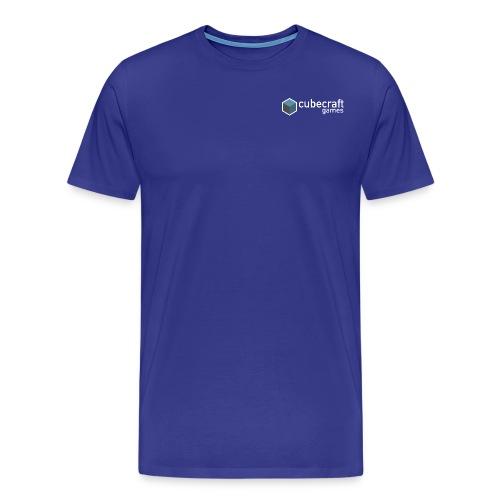 Logo White png - Men's Premium T-Shirt