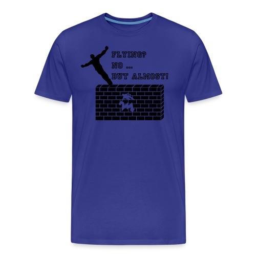 almostflying2 - Männer Premium T-Shirt
